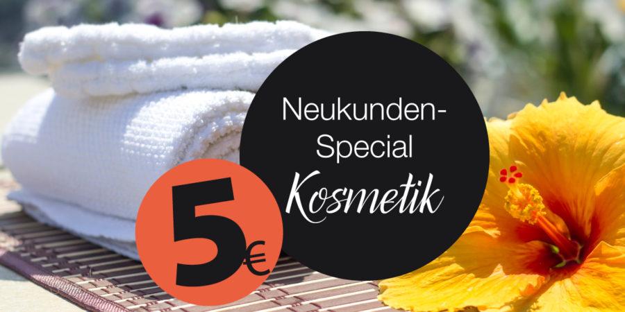 Kosmetiksalons: 5 Euro Nachlass für Neukundinnen