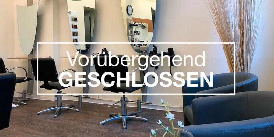 Friseursalons vorübergehend geschlossen
