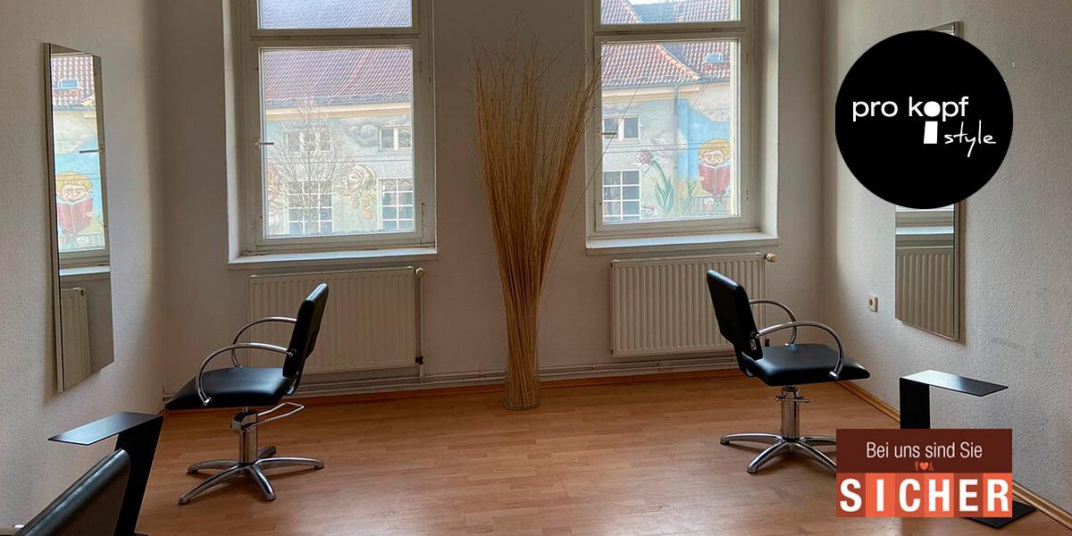 Friseur pro kopf style. Salon: Winckelmannstraße 57, 12487 Berlin. Weitere Bedienplätze im 1. Stock